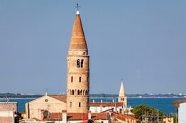 Picture - Caorle as a former fishing village is very attractive for holiday makers