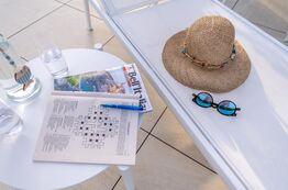Bild Entspannung in der Sonne Italiens direkt an der Adria, dafür stehen die Ferienapartments des Pareus Beach Resorts.