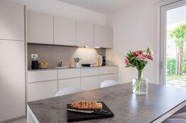 Alle Apartments und Villen im Pareus Beach Resort haben eine vollausgestattete Küche